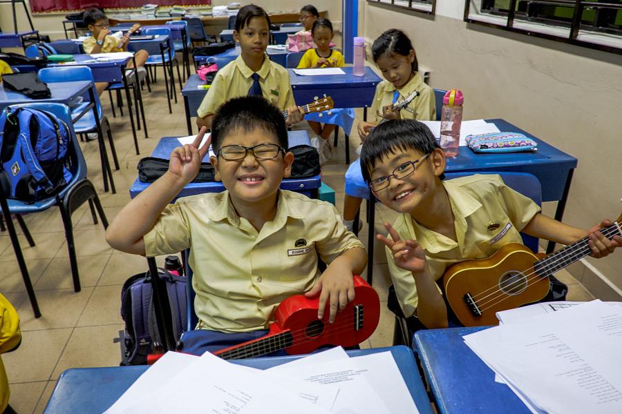 Fairfield Methodist Primary - Ukulele Class